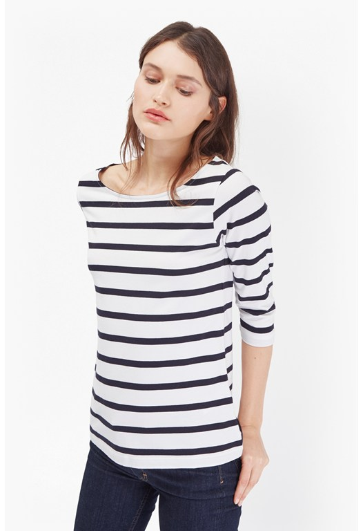 Tim Tim Bold Striped Top