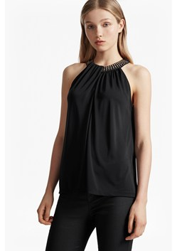 Diamond Drape Halterneck Top