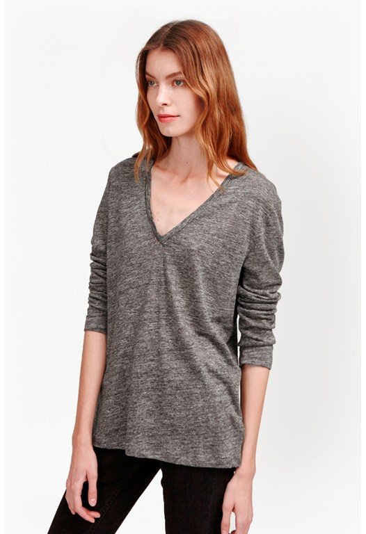 Laurel Linen Long Sleeve T-Shirt
