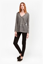 Looks Great With Laurel Linen Long Sleeve T-Shirt