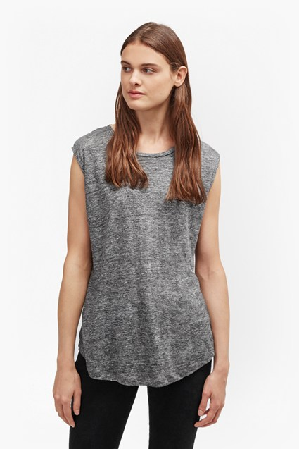 Laurel Linen Marl T-Shirt