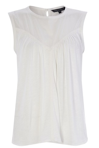 Edith Round Neck Top