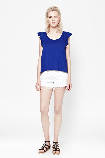 Polly Plains Top