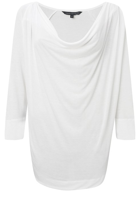 Renoir Jersey Cowel Neck Top