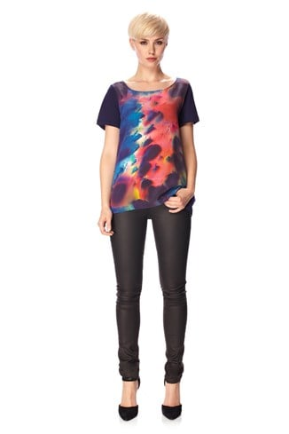 Night Sky Silk T-Shirt