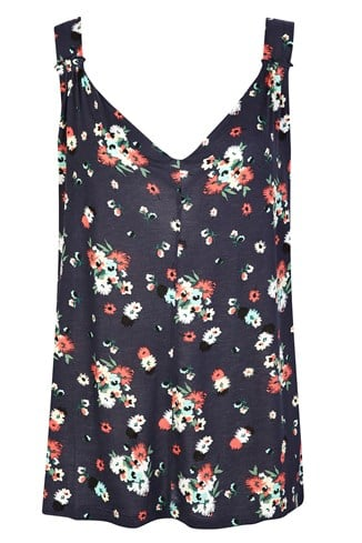 Holiday Blossom Top