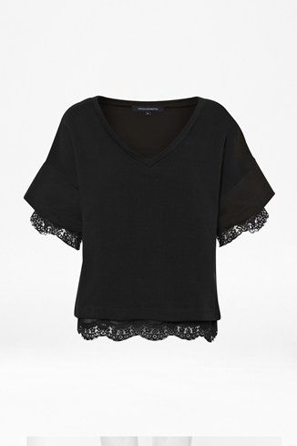 Kelby Scallop Lace Top
