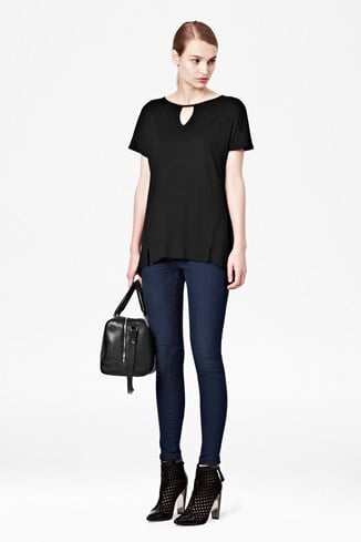 Mischa Cut-Out T-Shirt