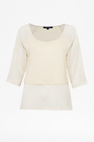 Polly Plains Layered Tee