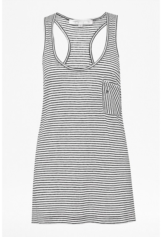 Sandra Striped Vest