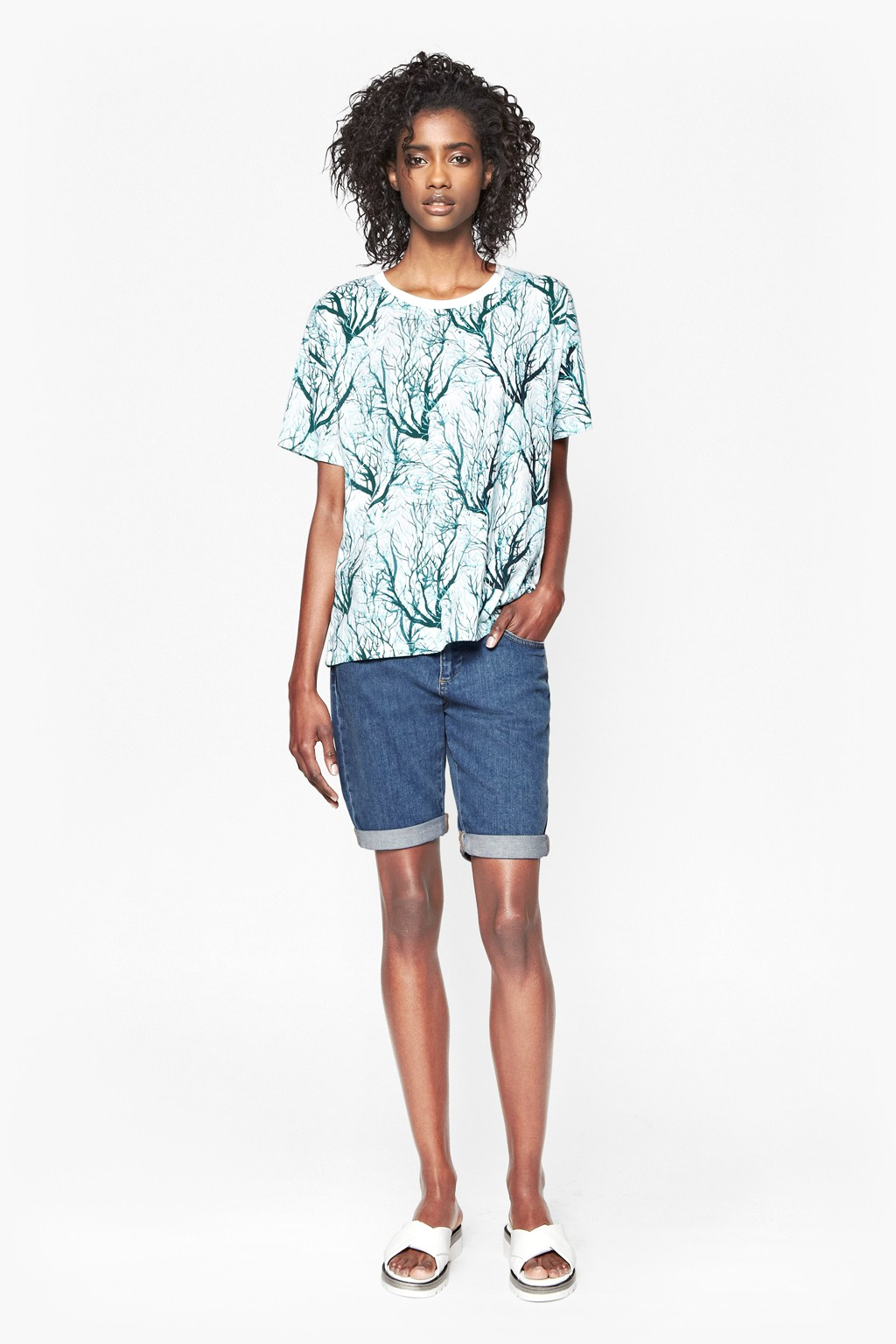Sea Fern Holiday T Shirt Dresses French Connection