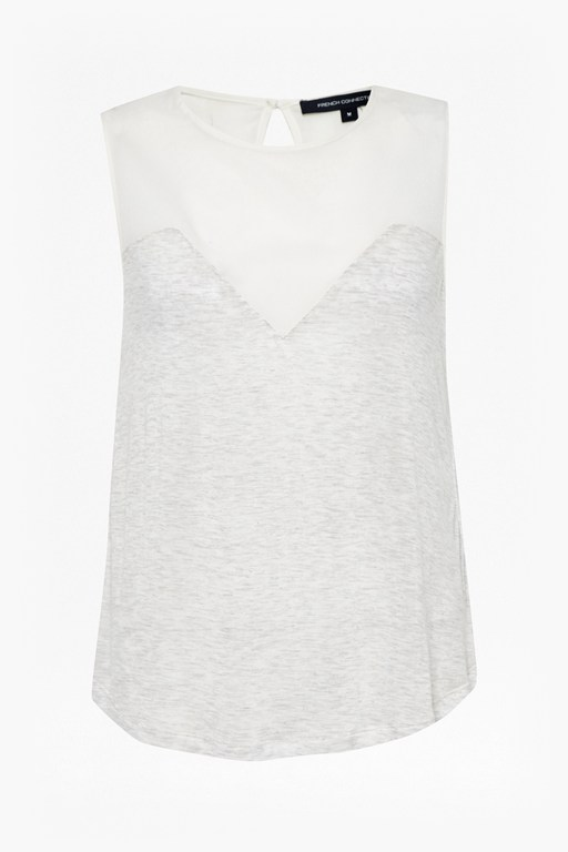 Complete the Look Polly Plains Sheer Top