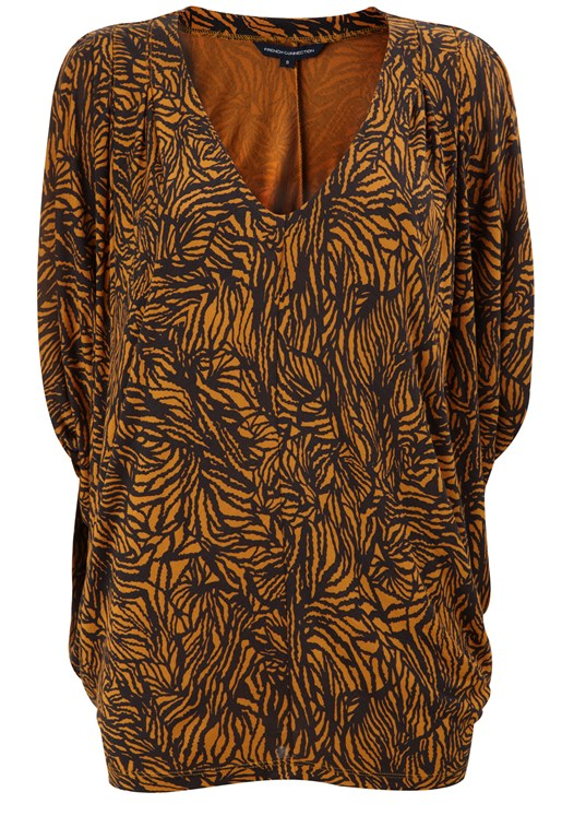 Timber Jersey Batwing Top