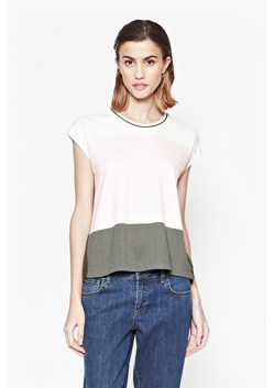 Sicily Stripe Sheer Back Top