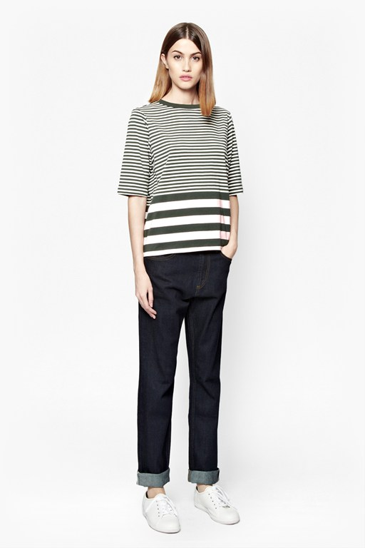 midsummer striped t-shirt