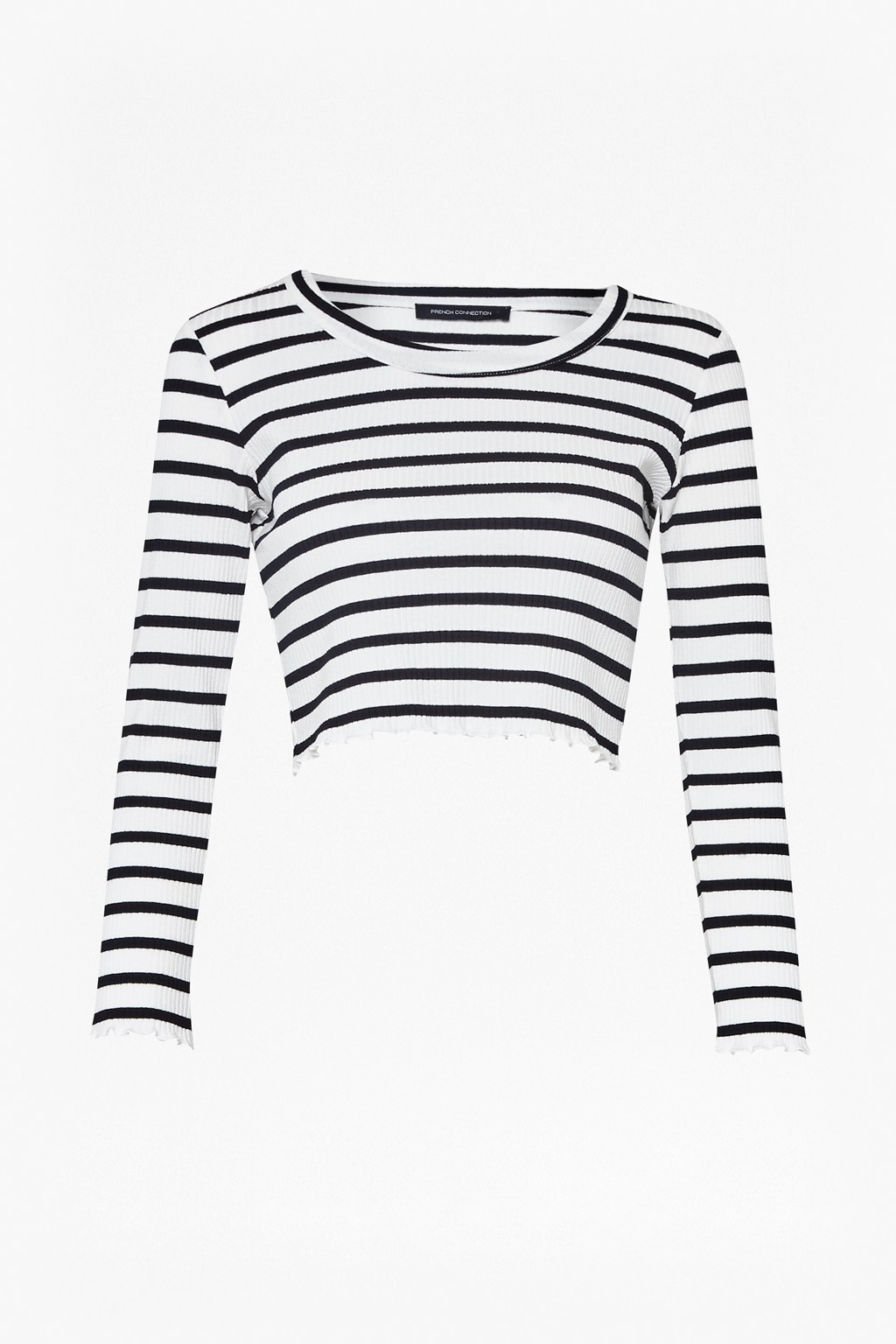 adf7bf5675d Later Stripe Crop Top