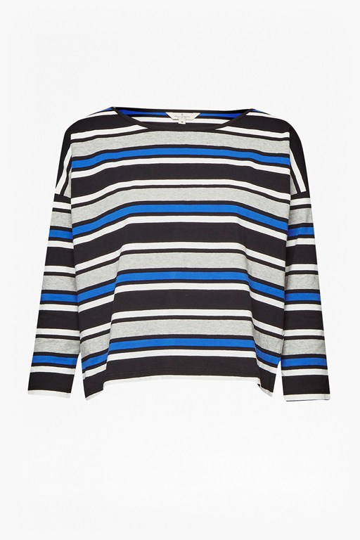 Complete the Look Suo Stripe Long Sleeve Top