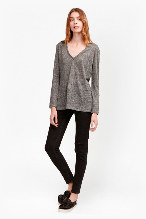 Complete the Look Laurel Linen Long Sleeve T-Shirt