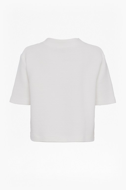 Complete the Look Marin Ottoman Jersey High Neck Top