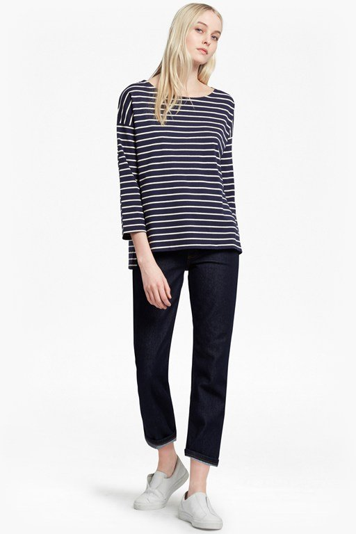 spring tim tim striped top