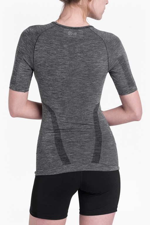 Complete the Look Moto Cross Seamless Short Sleeve Top