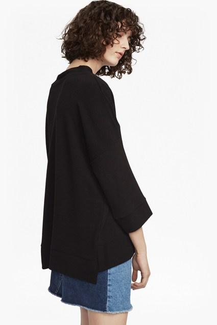 Sudan Marl Oversized Top