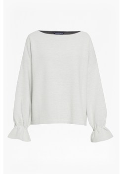 Ellen Fluted Sleeve Textured Jumper