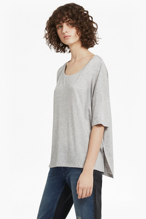 Complete the Look Hetty Marl Oversized Jersey T-Shirt