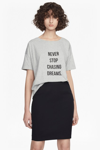 Never Stop Chasing Dreams T Shirt