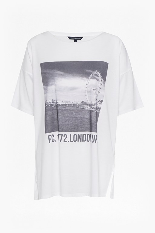 london eye round neck jersey t-shirt