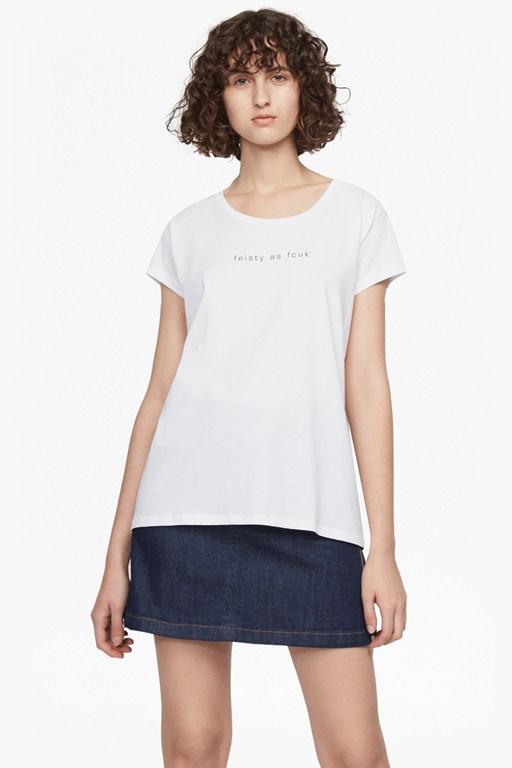 Complete the Look Feisty As Fcuk Short Sleeved T-Shirt