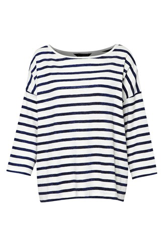 Riley Lurex Stripe Top