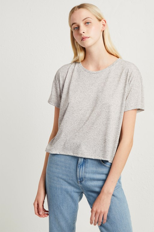 high summer hetty crop tee