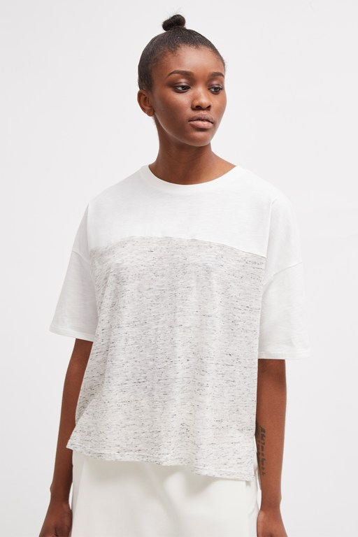 Complete the Look Patchwork Tonal T-Shirt