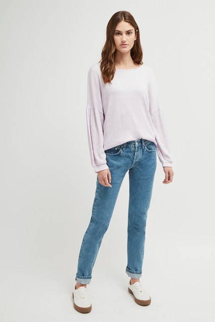 Pearle Jersey Cropped Top
