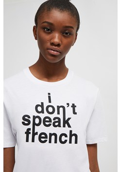 I Don't Speak French Slogan T-Shirt