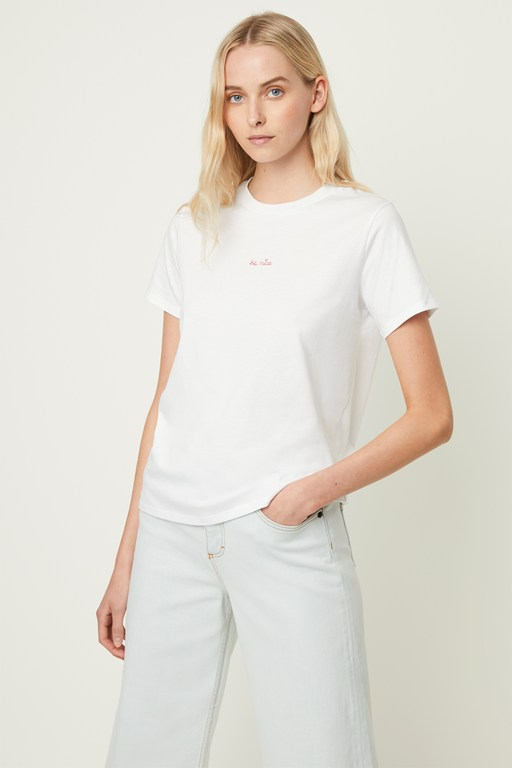 be nice embroidery tee