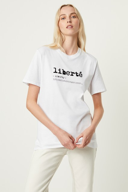 Liberte Graphic T-shirt