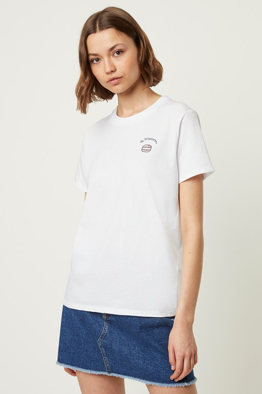 Complete the Look Le Macaron Embroidered T-shirt