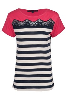 Lacey Lou Striped T-Shirt
