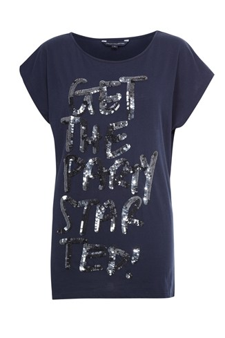 Party Started Sequin T-Shirt