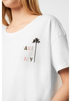 Take It Easy Crop Tee