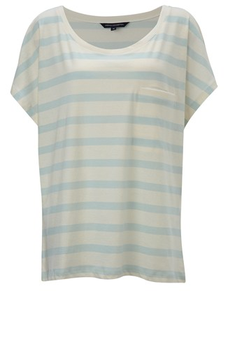 Rainbow Stripe Box Tee