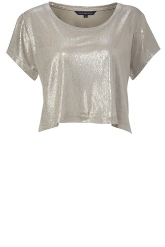 Goldie Cropped Tee