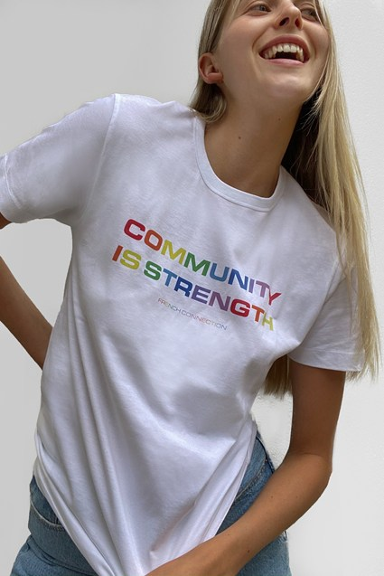 Community Is Strength T-shirt