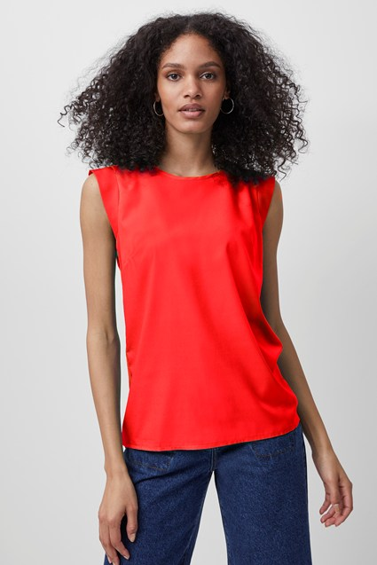 Crepe Light Sleeveless Top