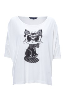 Geeky Cat Top