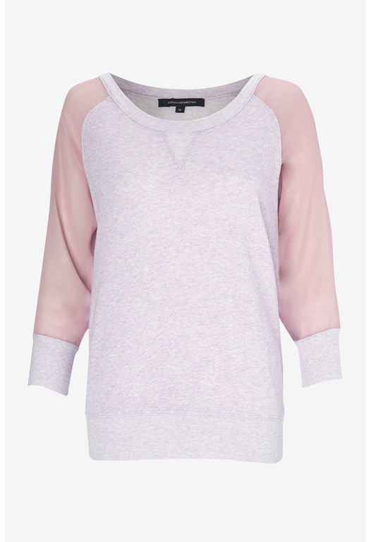 Ditton Crepe Sleeve Sweatshirt