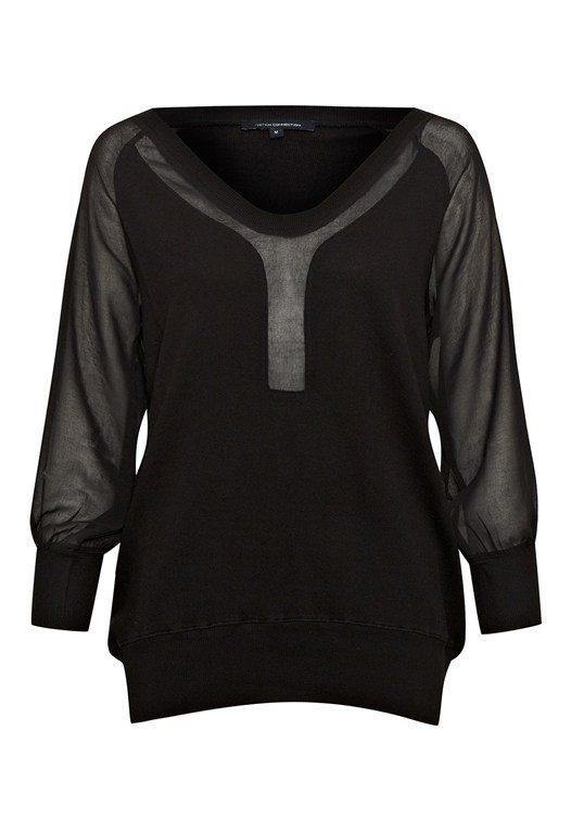Ditton V-Neck Sweatshirt