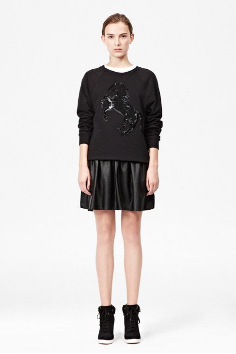 Estelle Sequin Horse Sweatshirt